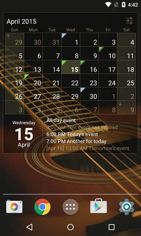Calendar Widget apk_Calendar Widget app Free Download For Android